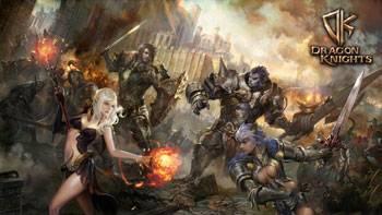 браузерная ММОRPG Dragon Knight