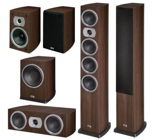 Комплект акустических систем 5.1 HECO Victa Prime 602