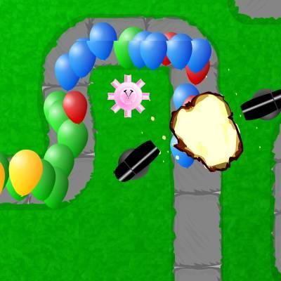 Bloons TD 2 - Защита от шариков