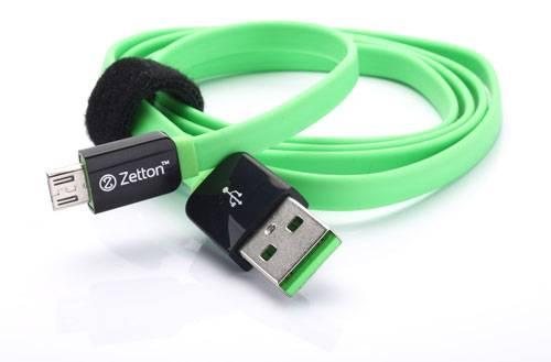 Zetton Micro USB Flat Кабель