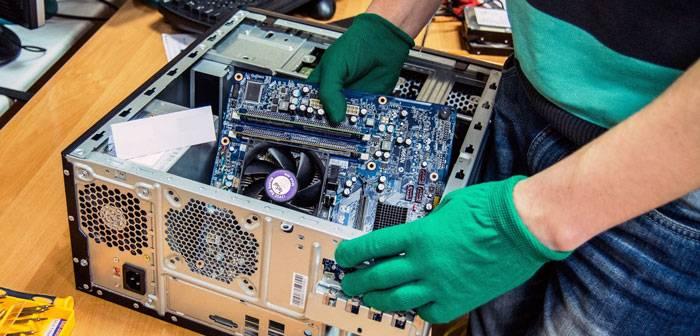 Услуги обслуживания и ремонта компьютеров